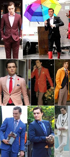 "Chuck's Rainbow Wardrobe | 26 Of The Most Memorable ""Gossip Girl""-Style Trends, From Tasteful To Tacky"