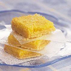 Easy Lemon Squares Recipe | MyRecipes.com