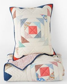 Goose Chase Quilt and Sham