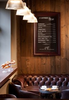 Cosy coffee lounge at the Crown & Thistle, Abingdon
