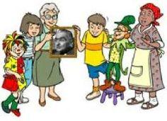 Personagens inesquecíveis de Monteiro Lobato , boneca Emília , Narizinho. Dona Benta , Pedrinho , Visconde de Sabugosa e tia Nastácia .