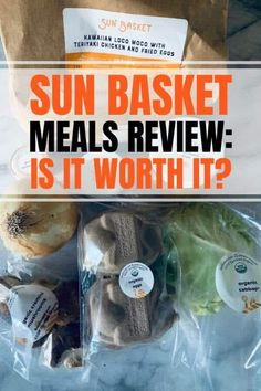 Sun Basket review including meals recipes lean and clean, paleo, vegetarian, low carb, vegan, chicken, pork, turkey chili, morning breakfast and gift options. Cooked Meal Delivery, Meal Delivery Service, Lose Weight In A Month, How To Lose Weight Fast, Belly After Baby, Vegetarian Paleo, Vegan, Veggie Snacks, Insulation Materials