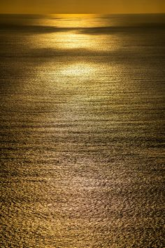 Ogasawara; Daybreak golden sea