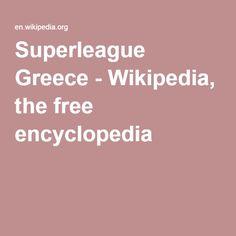 SOCCER Superleague Greece - Wikipedia, the free encyclopedia