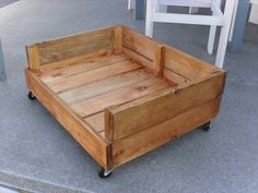 15 camas de cachorro feitas de pallets de madeira - Ideagrid _14