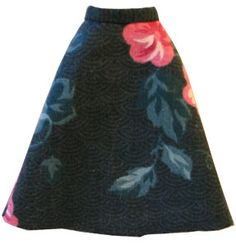 This A-line skirt is one of the easy patterns to cut and sew. I have it here in a gif file. This is a pattern that I made using the flat pattern technique. Here is a picture of what you are making:…