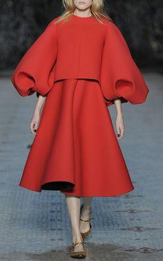 Oversized Sleeve Dress by DICE KAYEK for Preorder on Moda Operandi