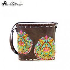 Montana West Embroidered Collection Crossbody Bag  Handbag Purse Western Boho #MontanaWest #MessengerCrossBody