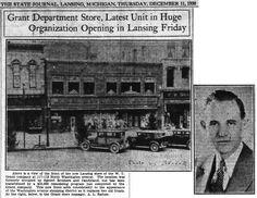 https://flic.kr/p/zifWpc | Grant Department Store opening-117-119 N. Washington Ave.-1930-12-11-Lansing, MI