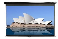 Elite Screens M100UWH Manual Projection Screen (100 inch 16:9 AR) | Waddaya WatchinWaddaya Watchin