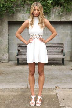 Darling Dress - Ivory