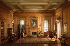 the Thorne Rooms ... miniature rooms designed by Mrs. Thorne 1930-1940 ... at the Art Museum in Chicago and Phoenix ...