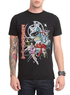 Futurama Anime Slim-Fit T-Shirt | Hot Topic https://www.fanprint.com/stores/american-dad?ref=5750