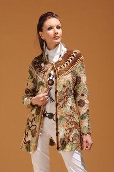 SON ÇİZGİ: Örme Dantel Ceketler