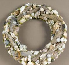 Driftwood & shell wreath
