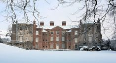 Mottisfont in snow. Credit: National Trust Images