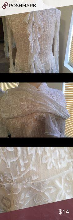 Blouse Off white blouse Allison Taylor Tops Blouses