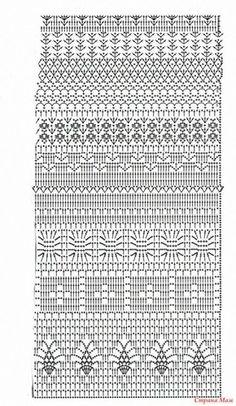 Fabulous Crochet a Little Black Crochet Dress Ideas. Georgeous Crochet a Little Black Crochet Dress Ideas. Filet Crochet, Plaid Au Crochet, Crochet Stitches Chart, Crochet Motifs, Crochet Diagram, Crochet Granny, Crochet Lace, Crochet Doilies, Crochet Skirts