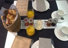 The brown bag breakfast is a great way to start your day.