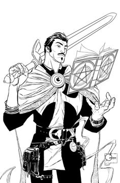 If you get a chance, would you mind posting the pencils for your Doctor Strange…