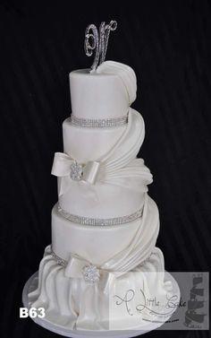 Fondant bolo de casamento