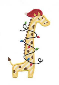 Giraffe Christmas Ornaments | WebNuggetz.com | Christmas Tree ...
