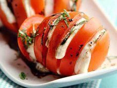 Grillatut mozzarella-tomaatit - Reseptit