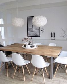 We Love The Beautiful Dining Space! Vita Eos Lamp Available At Www.istome.