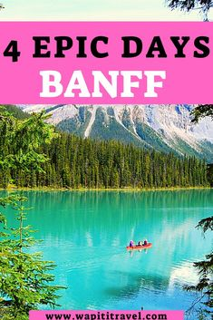 Banff   Banff itinerary   Banff national park   Banff Canada   things to do in Banff   Banff Alberta   Banff itinerary   4 days in Banff   4 day Banff itinerary #banff #alberta Solo Travel, Us Travel, Banff National Park, National Parks, Johnston Canyon, Canada Destinations, Banff Canada, Banff Alberta, Canadian Travel