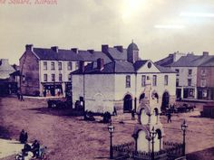 The old times in Kilrush, County Clare -Ireland