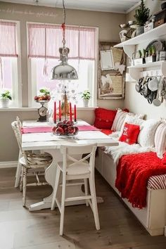 Natal vermelho e branco