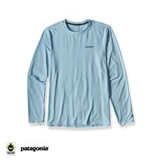 The Long-Sleeved Sun Tee — worn in or out of the water, this long-sleeved T-shirt with 50+ UPF sun protection and Polygiene® permanent odor control has a loose cut that provides lightweight comfort and coverage in sun, wind and surf. Made with Fair Trade Certified sewing. Learn more. Shop now.