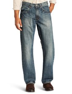 Lee Men's Dungarees Relaxed Straight Leg Jean, Voltage