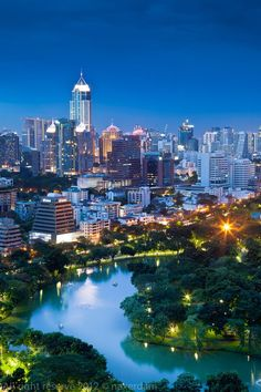 Night in Bangkok, Thailand