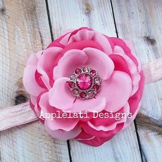 Two Toned Pink Valentine's Flower Photo Prop