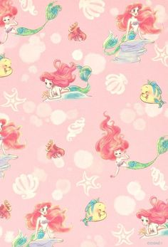 Little Mermaid Ariel Background