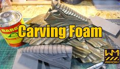 Turning EVA floor mats into blocks to carve for props or armor