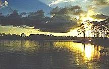 Sunset on Western Lake, Grayton, FL