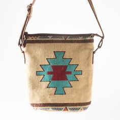 Carrizo Woven Crossbody Bag - Handbags & Scarves - National Cowboy Museum