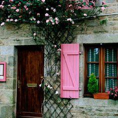 Pretty in Pink Shutters!  #pinkshutters http://www.sandiego-shutters.com/
