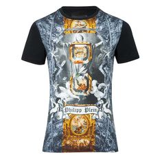 Philipp Plein Holy8 Black T-Shirt - 24 #PhilippPlein
