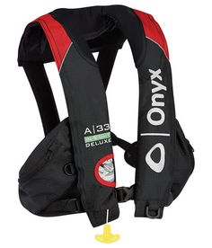 """A-33 In-Sight Deluxe """"Tournament"""" - Automatic Inflatable Life Jacket (PFD) picture"""