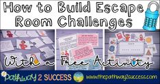 Escape room activities are a fun and interactive way to work on the skills kids need. My favorite part about escape room activities is that they really encourage cooperation and critical thinking skills. Kids work together and use their collective brain power to solve a variety of puzzles and challe