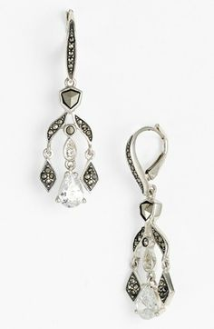 Judith Jack 'Party Ears' Chandelier Earrings available at #Nordstrom