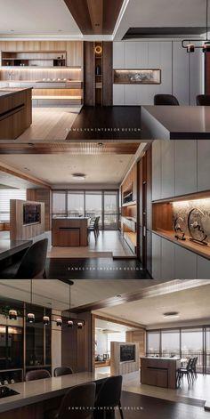 natural light is warmer than the artificial lighting. Home Room Design, Dream Home Design, Modern House Design, Modern Interior Design, Interior Architecture, Apartment Interior, Apartment Design, Interior Design Living Room, Living Room Designs