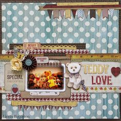 Lou's World: Kaisercraft DT - Teddy Bears Picnic