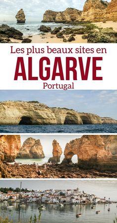 Pinterest Que faire en Algarve Portugal - Visiter Algarve Portugal - Algarve Plages