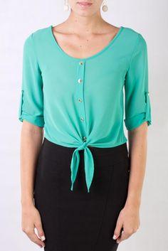 Blusa verde de Julia