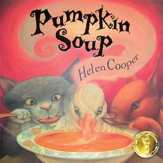 The Cat and the Squirrel come to blows with the Duck in arguing about who will perform what duty in preparing their pumpkin soup, and they almost lose the Duck's friendship when he decides to leave them.