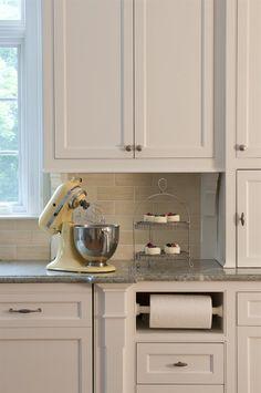 deas for papertowel holder built in kitchen cabinet | Paper Towel ...